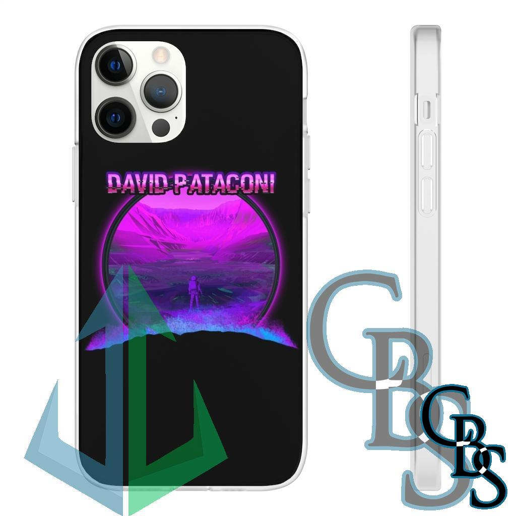 David Pataconi Space Exploration Clear Edge TPU Cases for iPhone 7 through iPhone 12, Samsung Galaxy S10