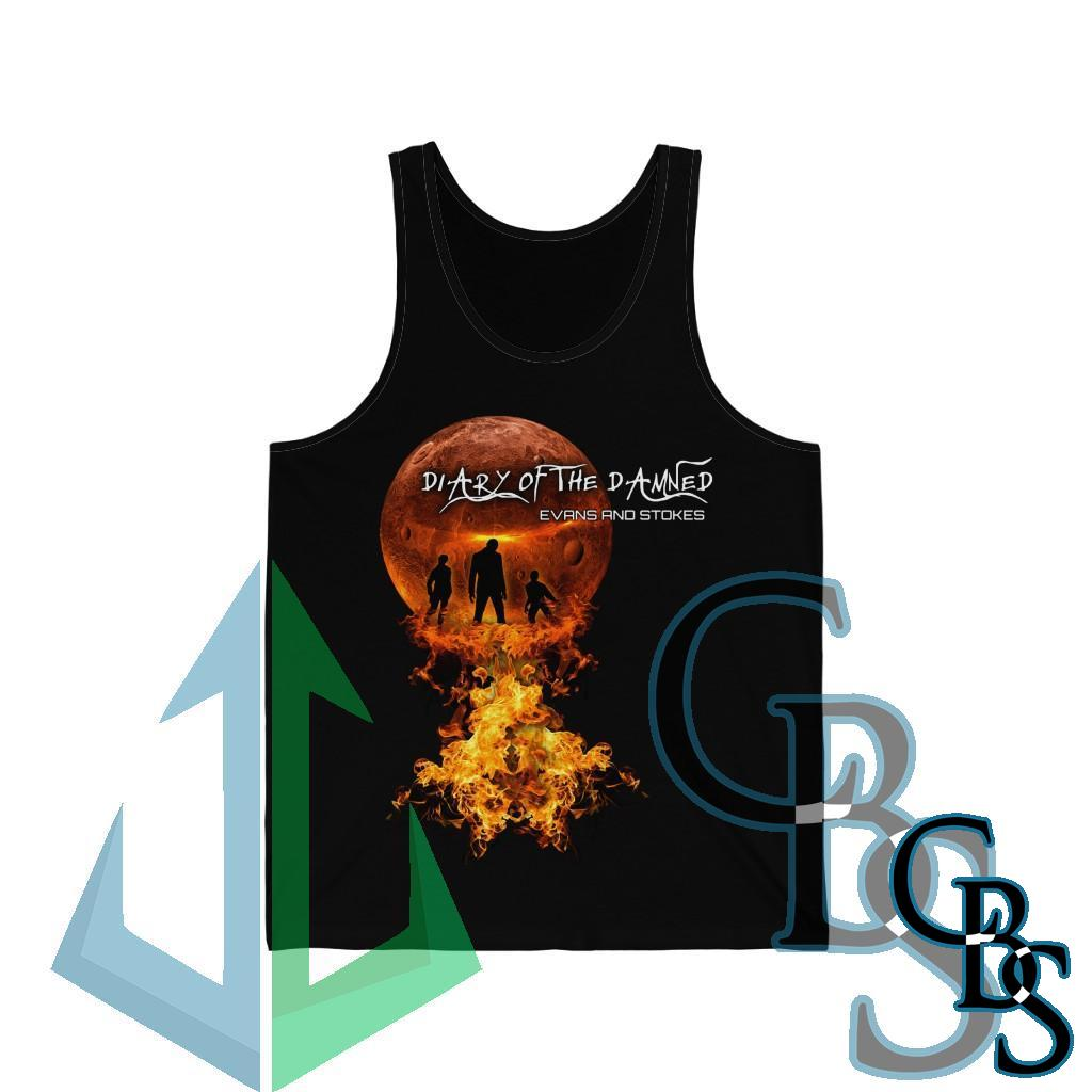Evans and Stokes – Diary of the Damned Unisex Jersey Tank Top