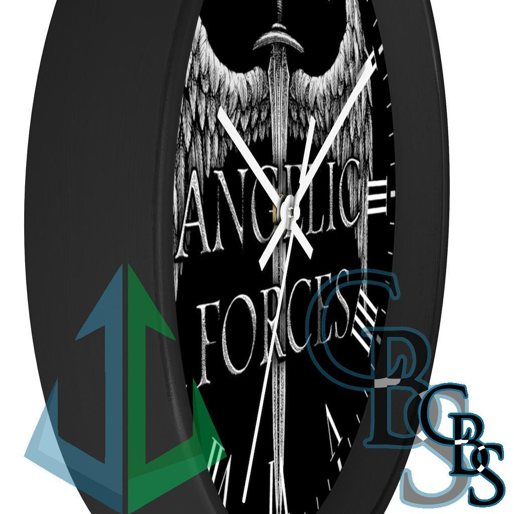 Angelic Forces Sword and Wing Wall clock