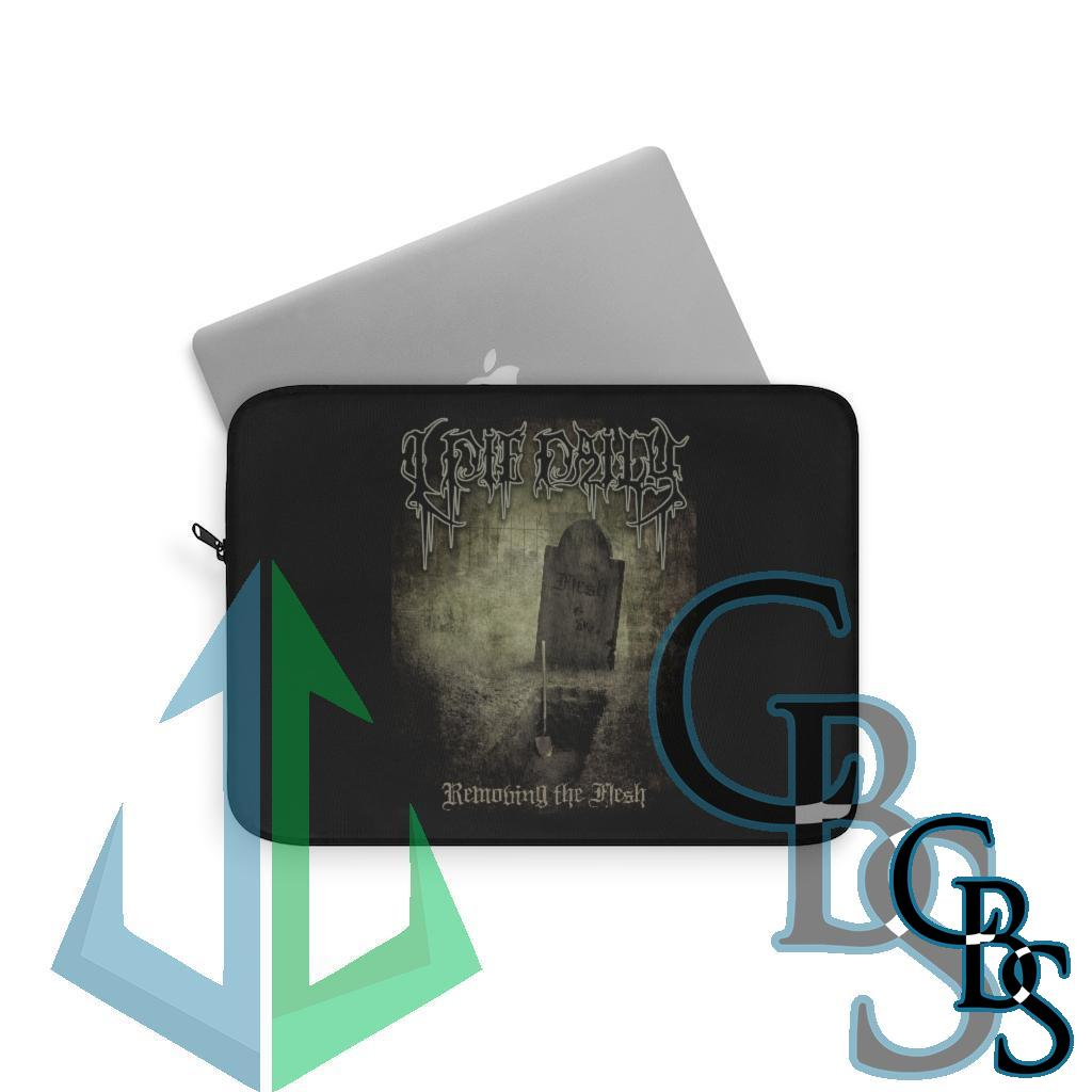 I Die Daily – Removing the Flesh Laptop Sleeves (3 sizes)