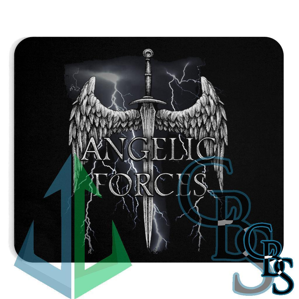 Angelic Forces Lightning Mouse Pad