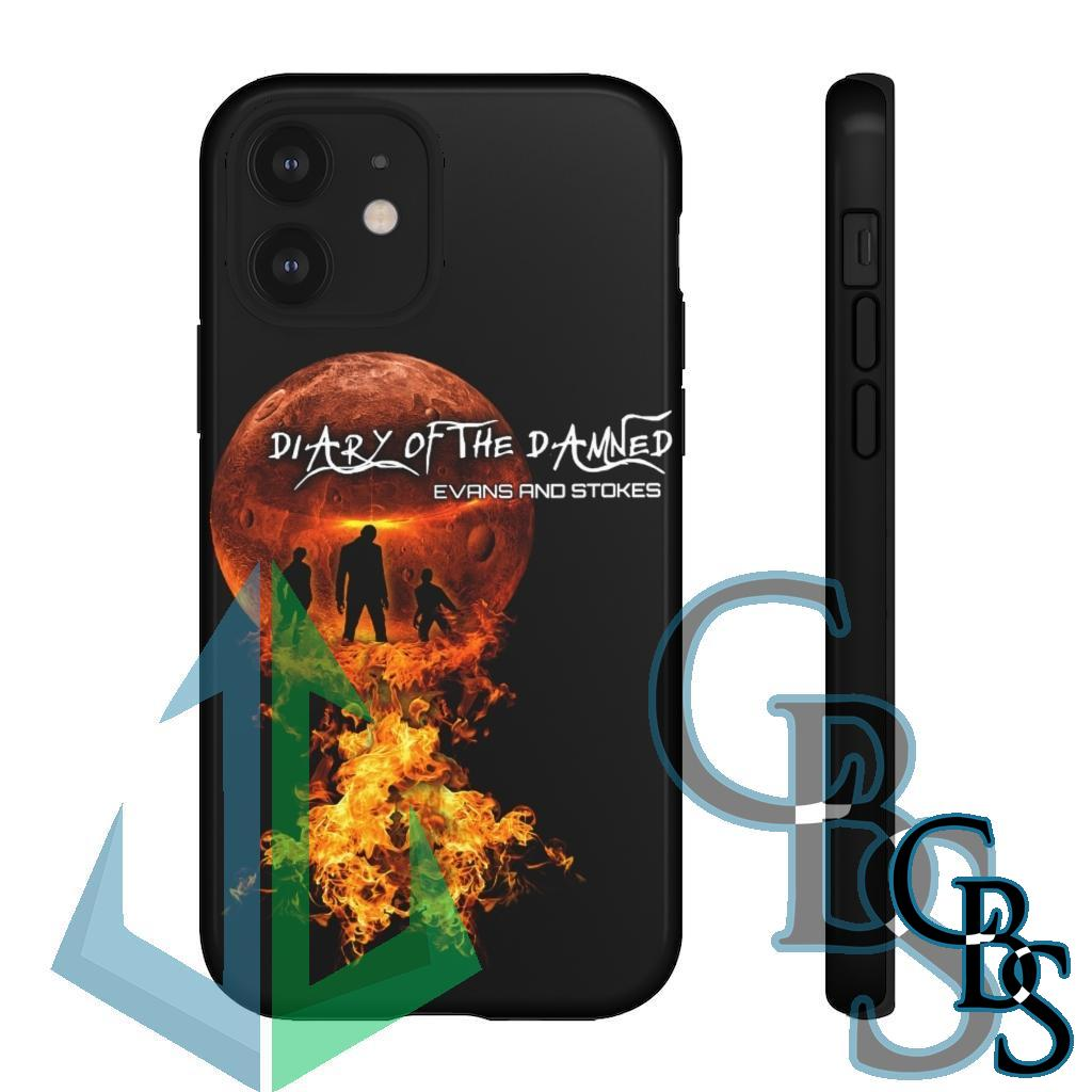Evans and Stokes – Diary of the Damned Tough Cases (iPhone models X-12 Pro Max, Samsung Galaxy S20)