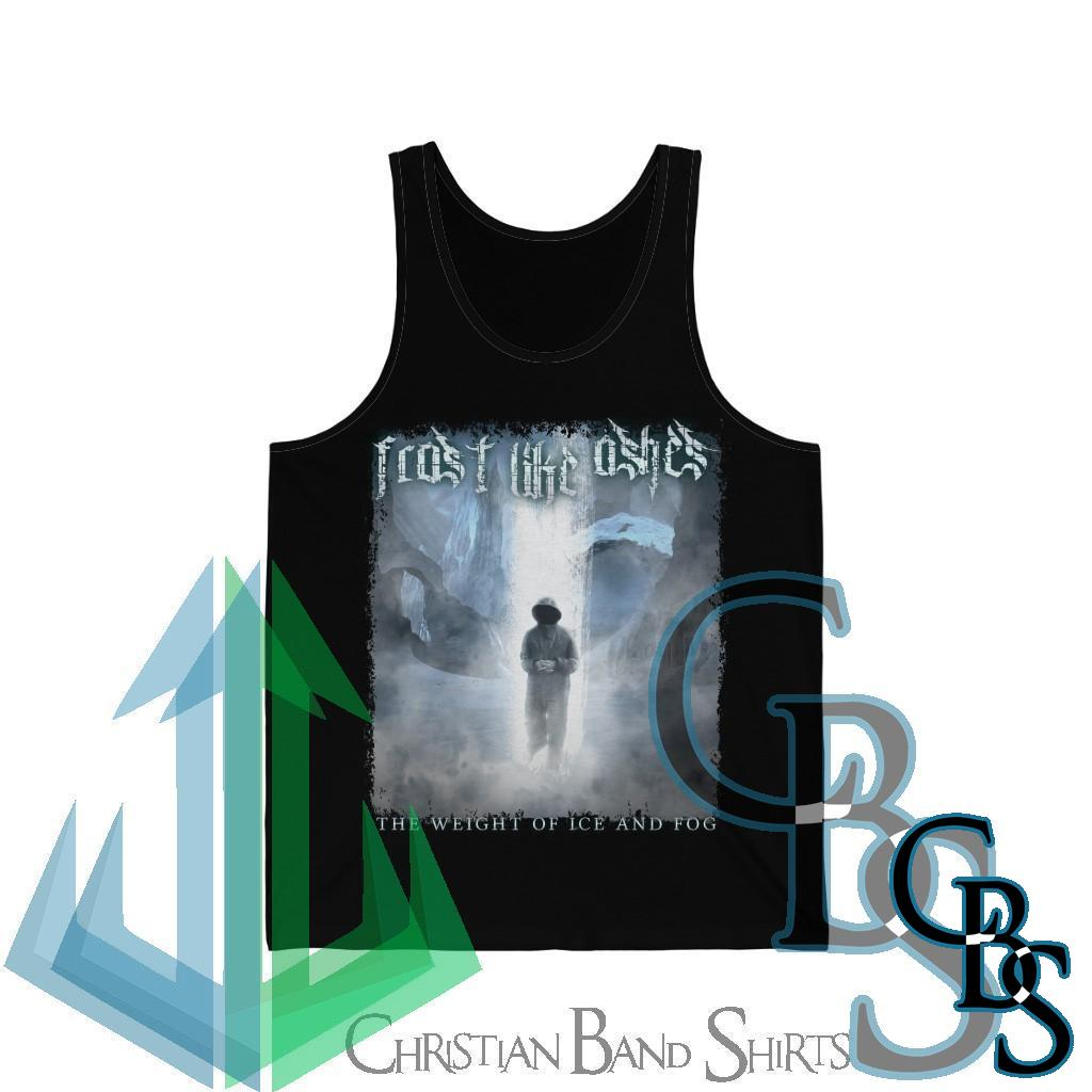 Frost Like Ashes – The Weight of Ice and Fog Unisex Jersey Tank Top