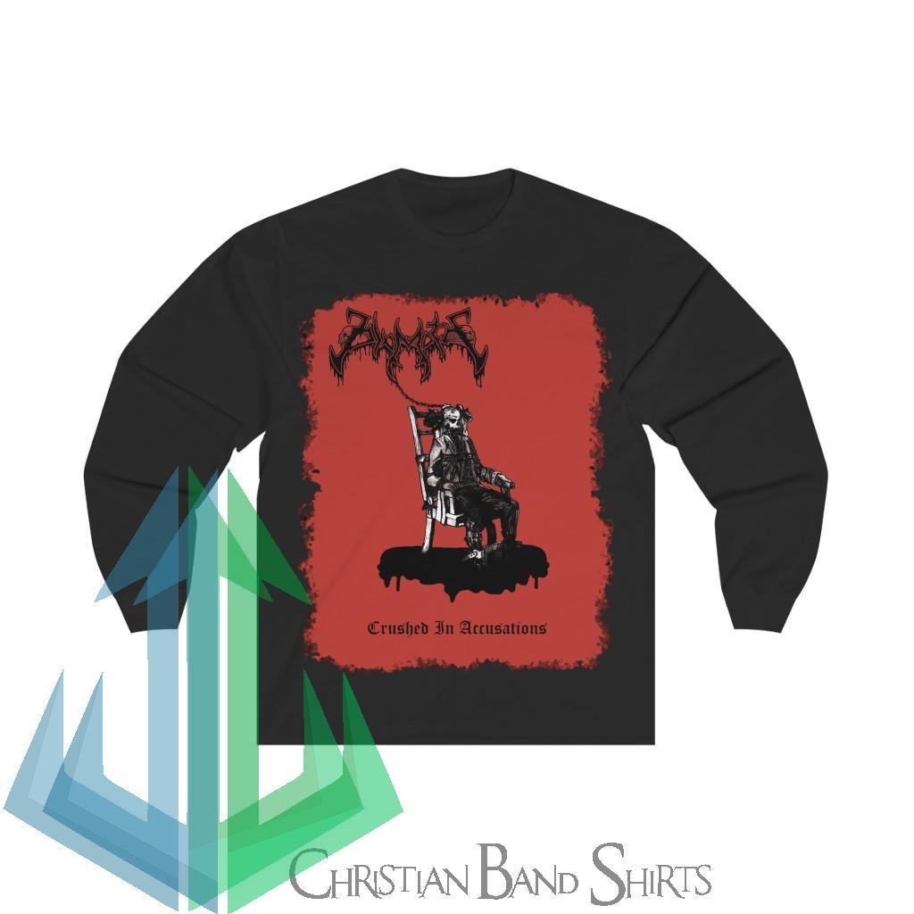 Diamoth – Crushed in Accusations Long Sleeve Tshirt
