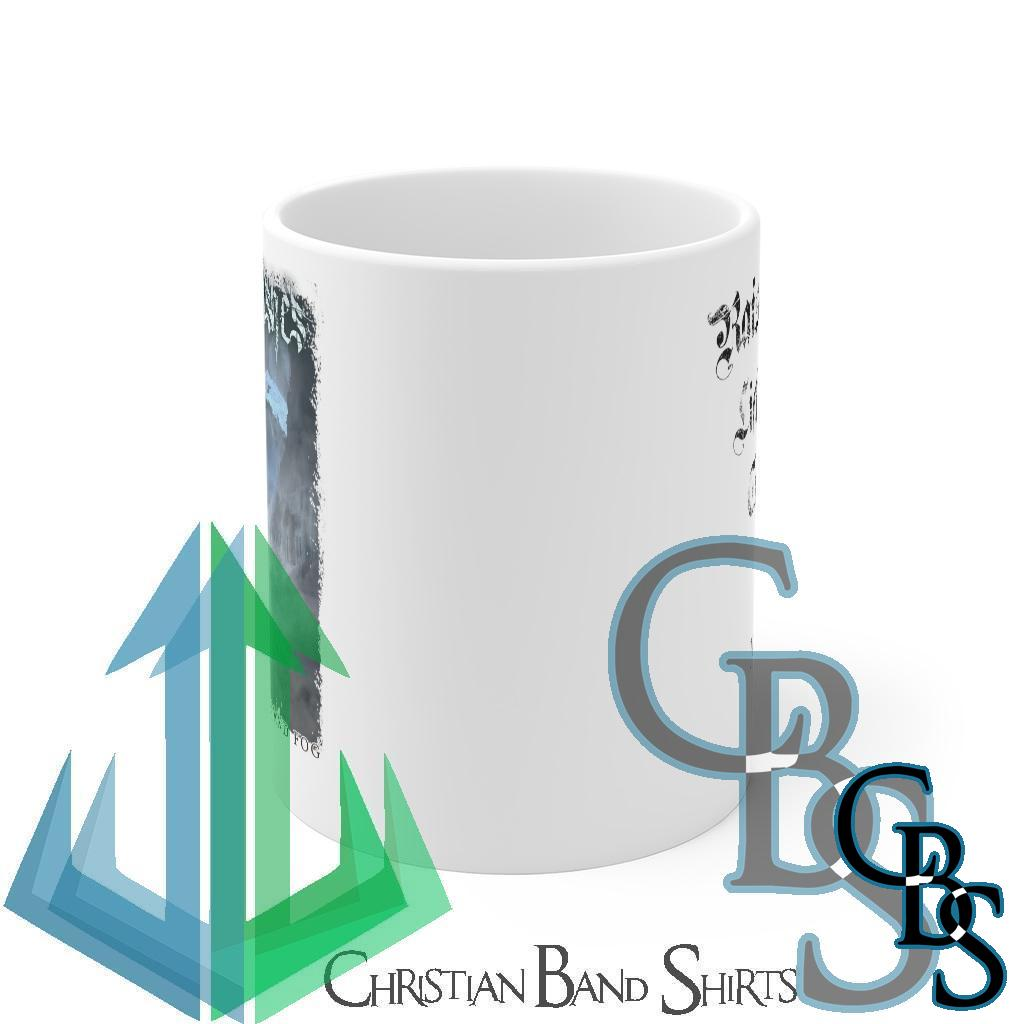 Frost Like Ashes – The Weight of Ice and Fog White mug 11oz