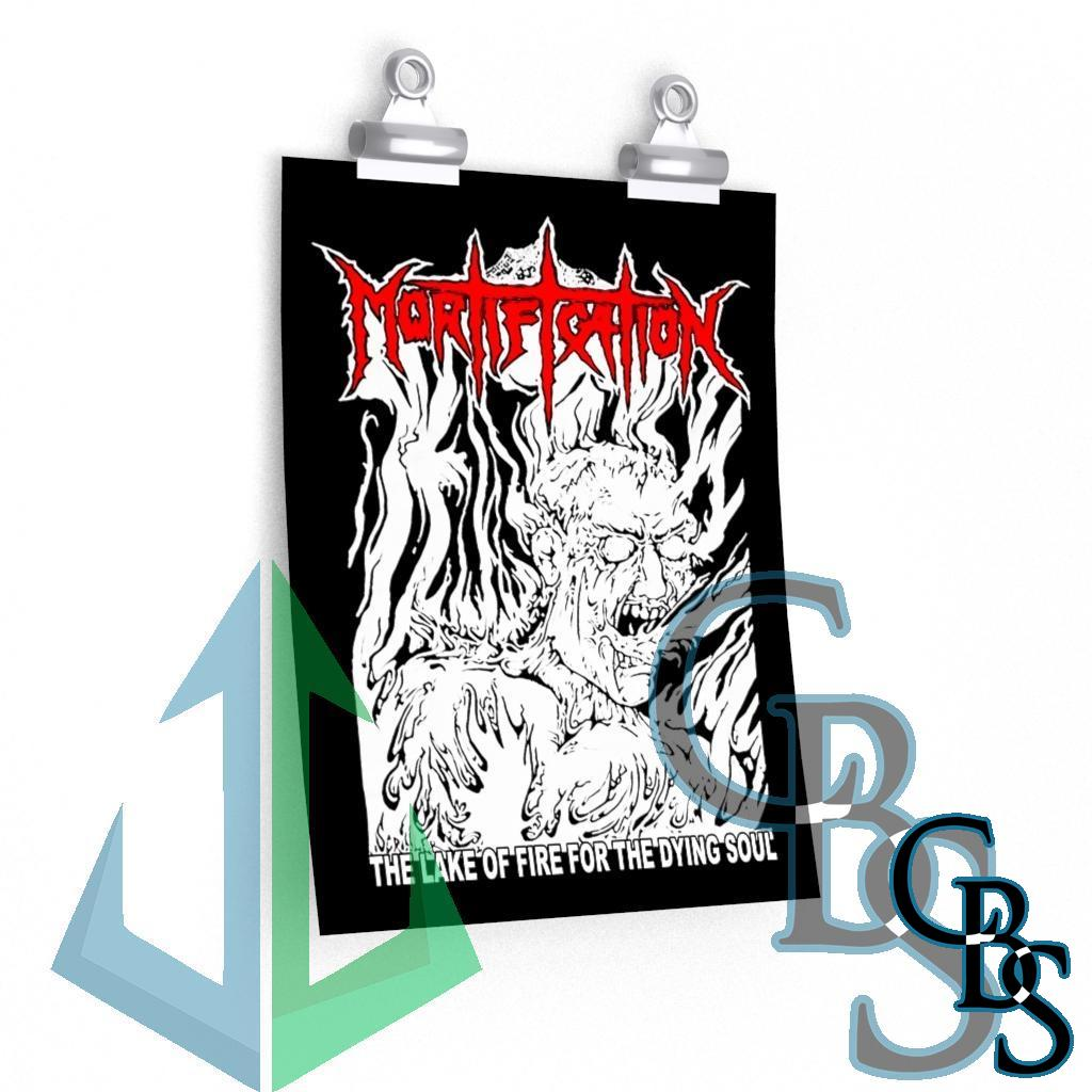 Mortification – The Lake of Fire Posters