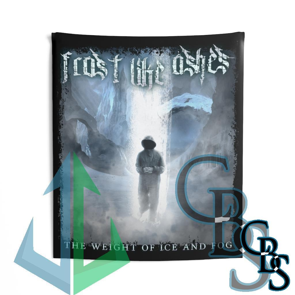 Frost Like Ashes – The Weight of Ice and Fog Indoor Wall Tapestries
