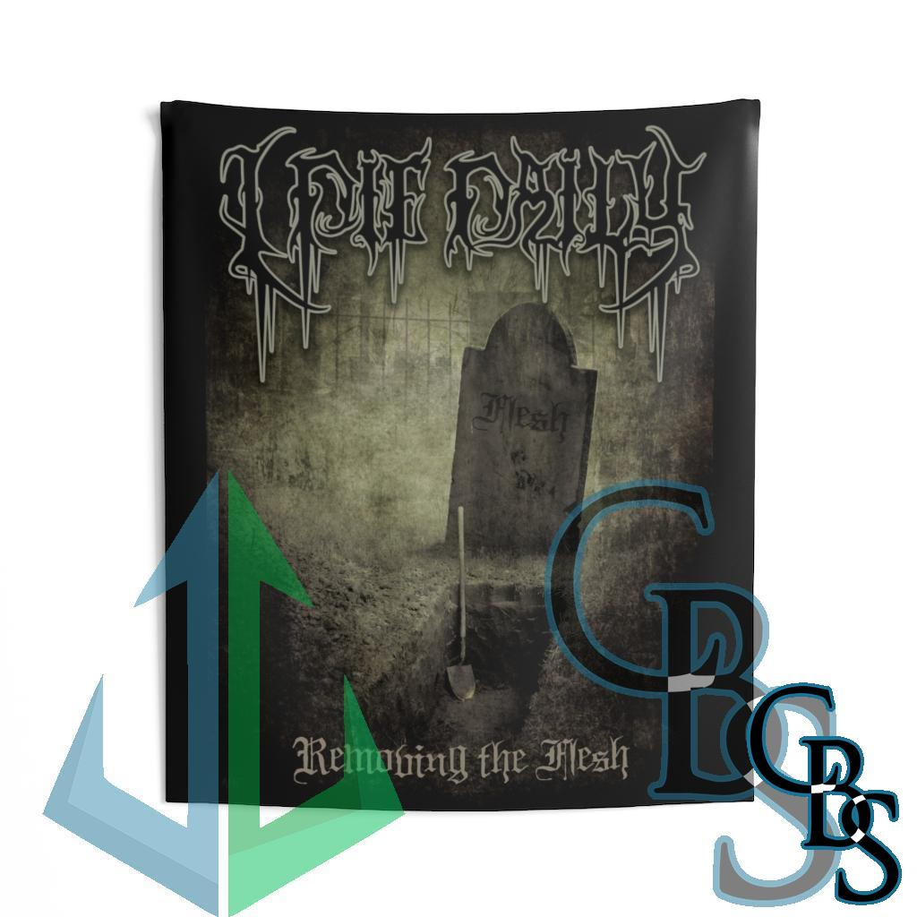I Die Daily – Removing the Flesh Indoor Wall Tapestries