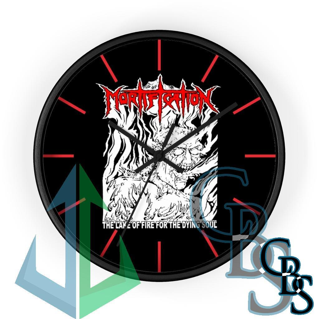 Mortification – The Lake of Fire Wall clock