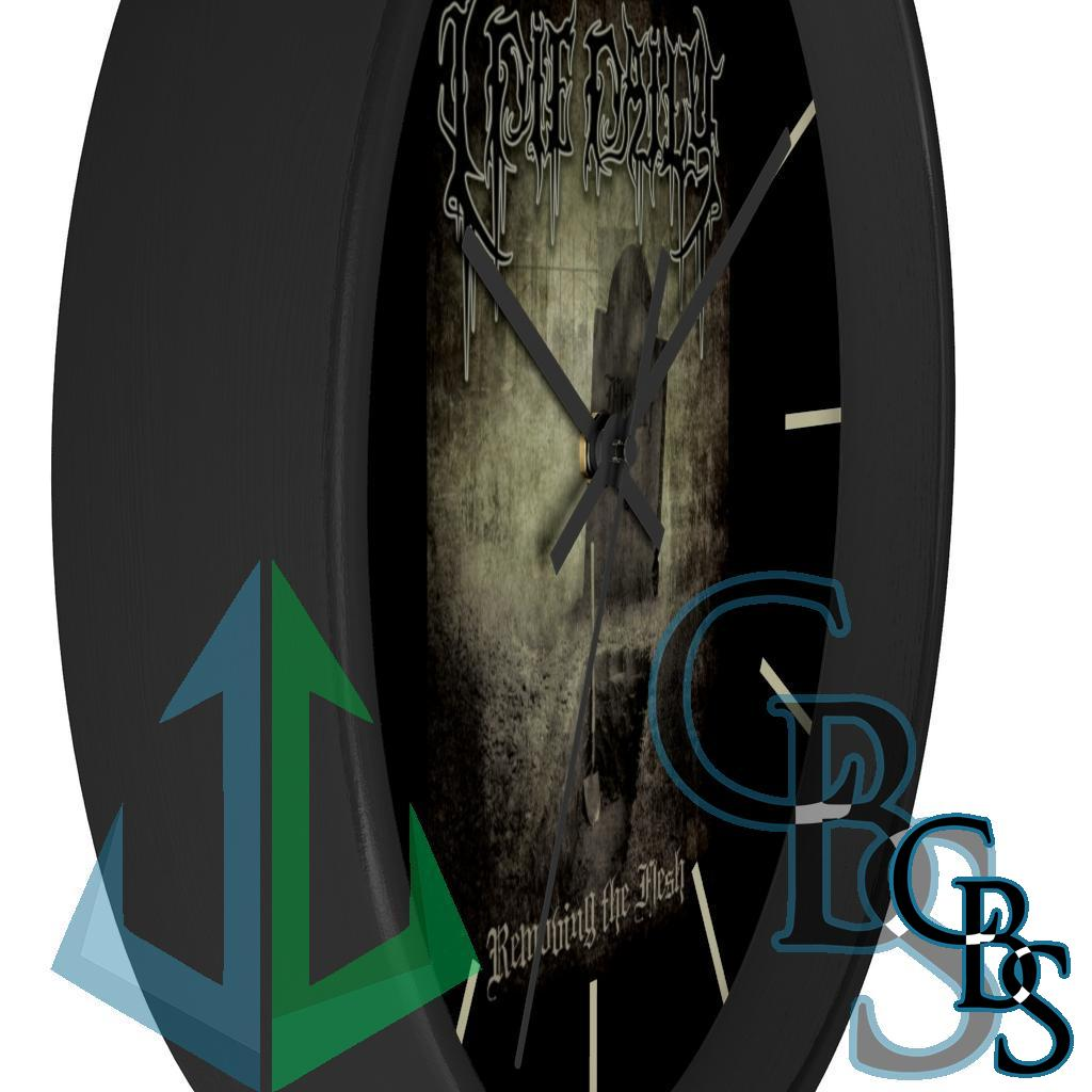 I Die Daily – Removing the Flesh Wall clock