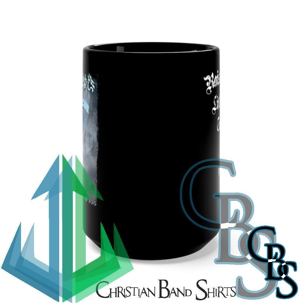 Frost Like Ashes – The Weight of Ice and Fog Black Mug 15oz