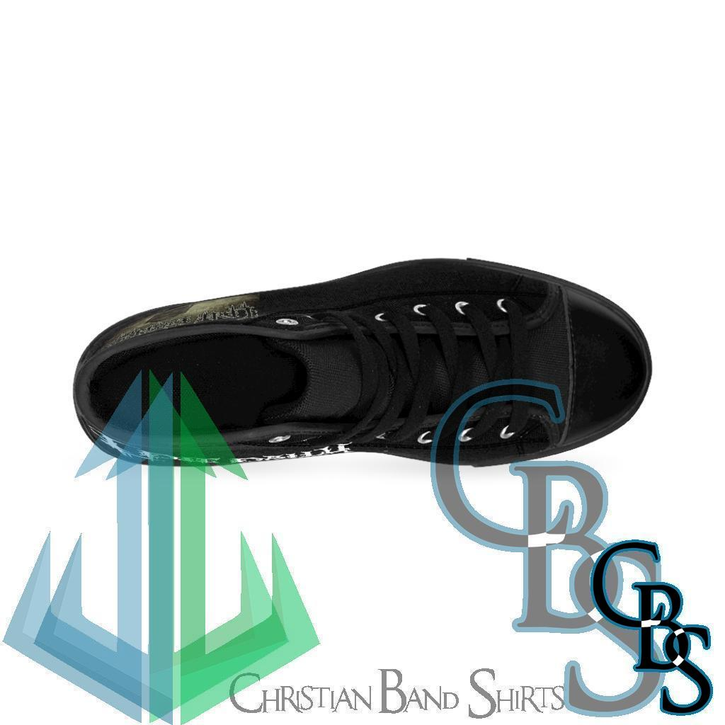 I Die Daily – Removing the Flesh Men's High-top Sneakers W