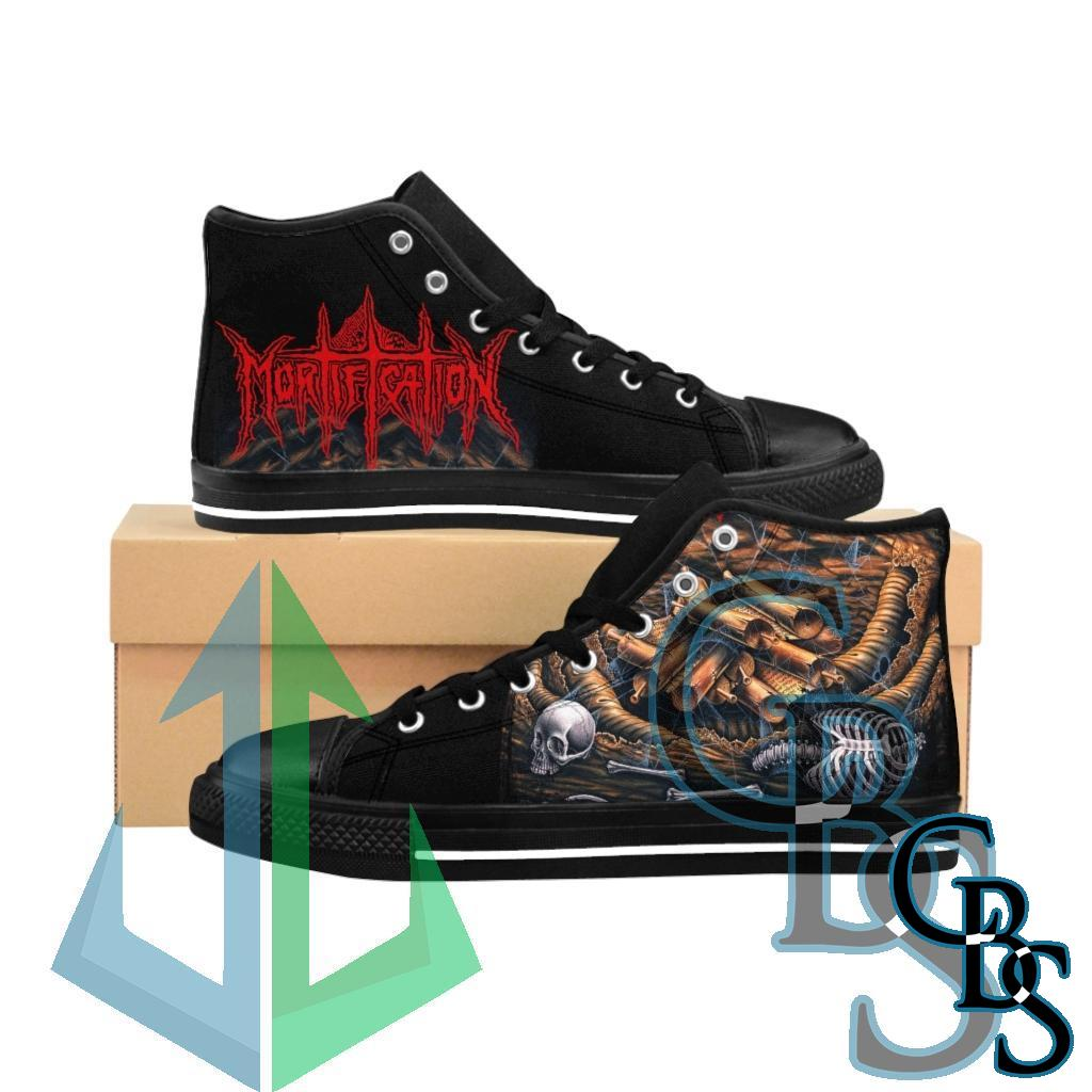 Mortification – Scrolls of the Megilloth Men's High-top Sneakers