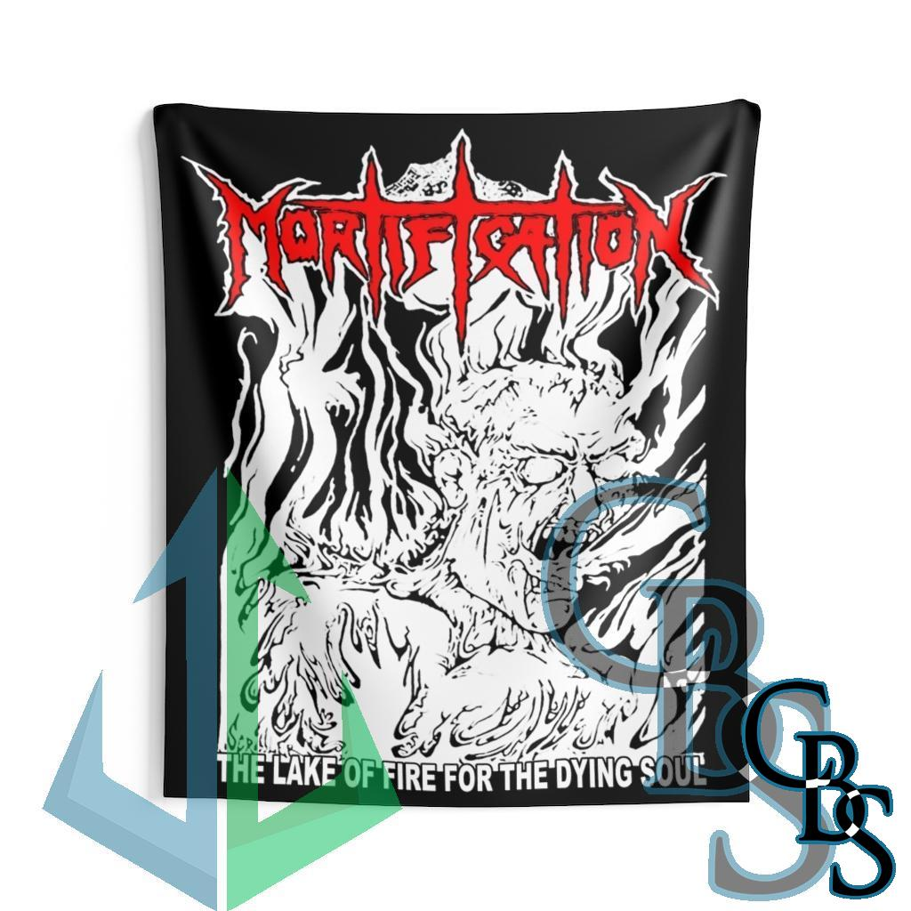 Mortification – The Lake of Fire Indoor Wall Tapestries