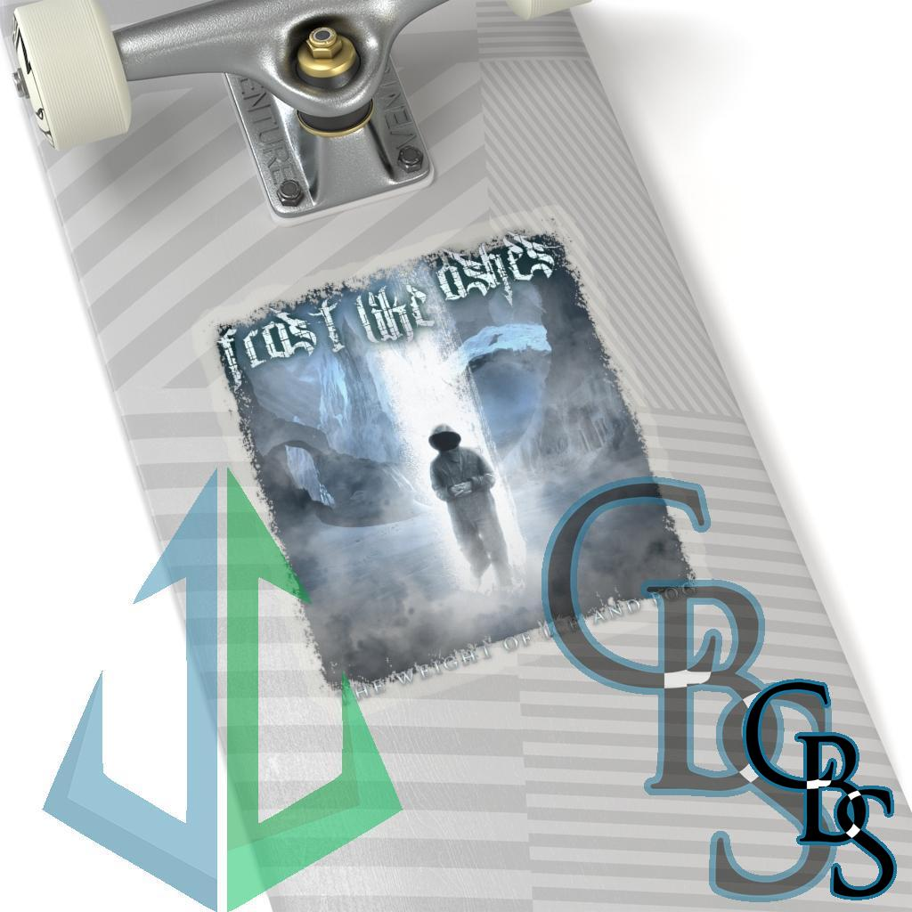 Frost Like Ashes – The Weight of Ice and Fog Die Cut Stickers