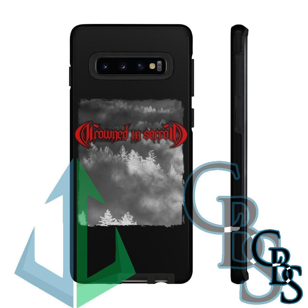 Crowned in Sorrow Fog Tough Cases (iPhone models 8-12, Samsung Galaxy S10-S20)