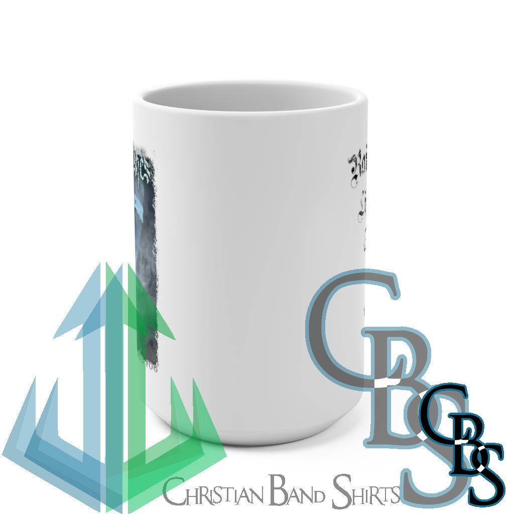Frost Like Ashes – The Weight of Ice and Fog White 15oz Mug