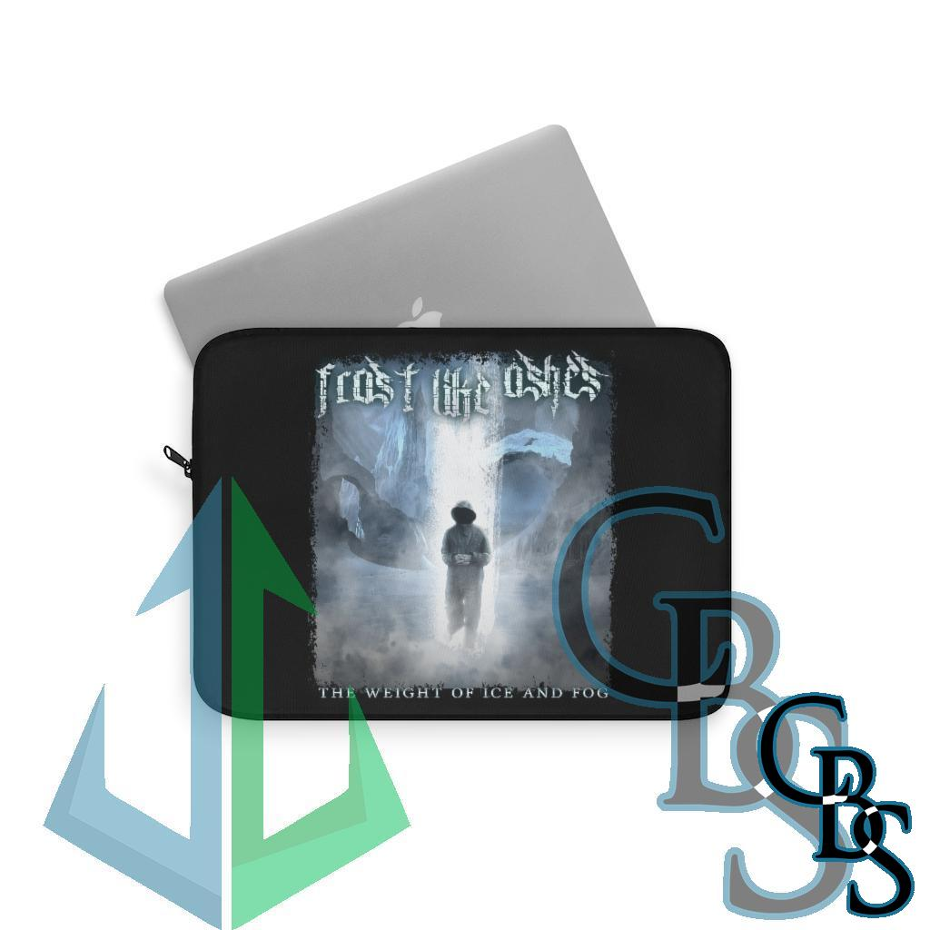 Frost Like Ashes – The Weight of Ice and Fog Laptop Sleeves (3 sizes)