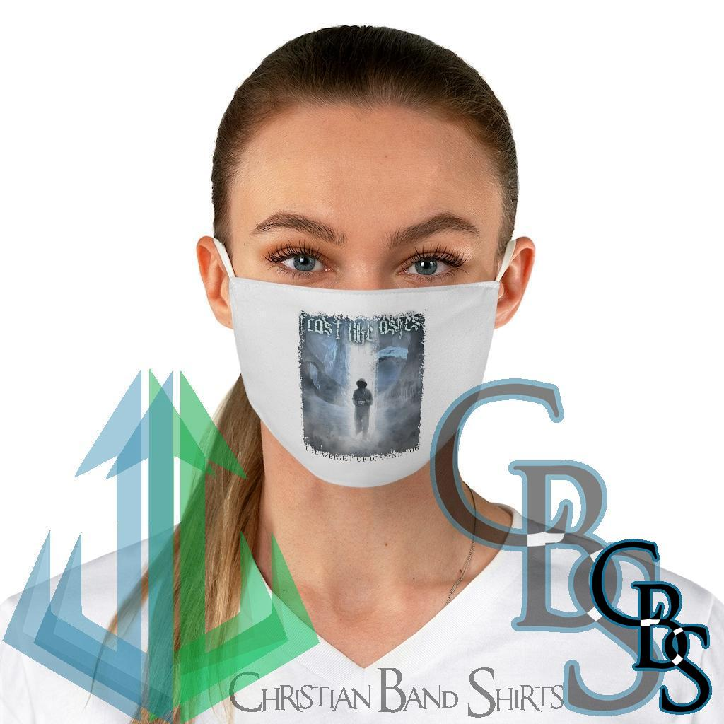 Frost Like Ashes – The Weight of Ice and Fog Fabric Face Mask