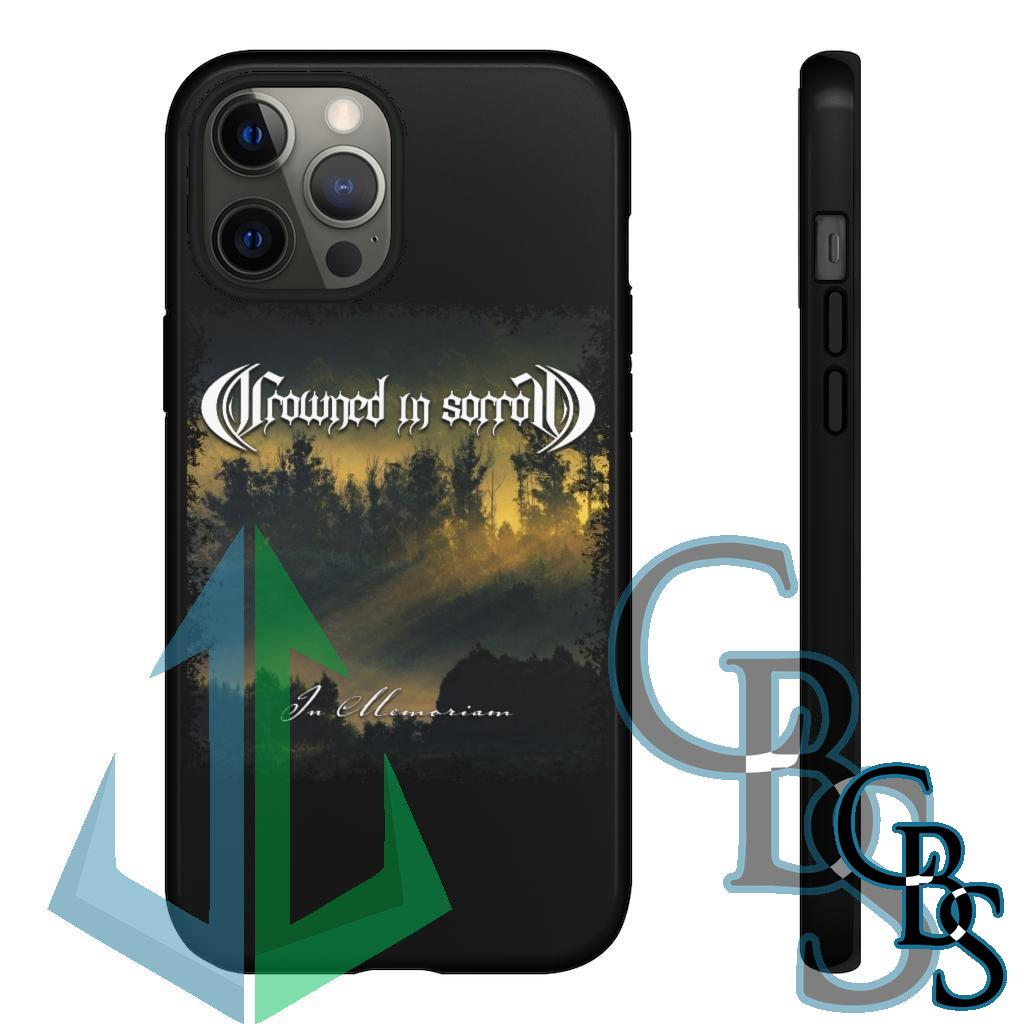 Crowned in Sorrow – In Memoriam Tough Cases (iPhone models 8-12, Samsung Galaxy S10-S20)