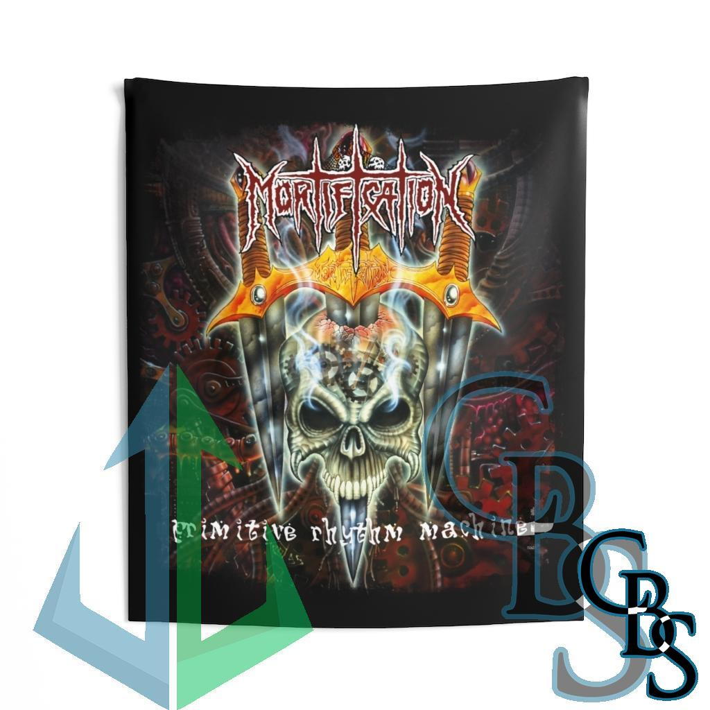 Mortification – Primitive Rhythm Machine Indoor Wall Tapestries