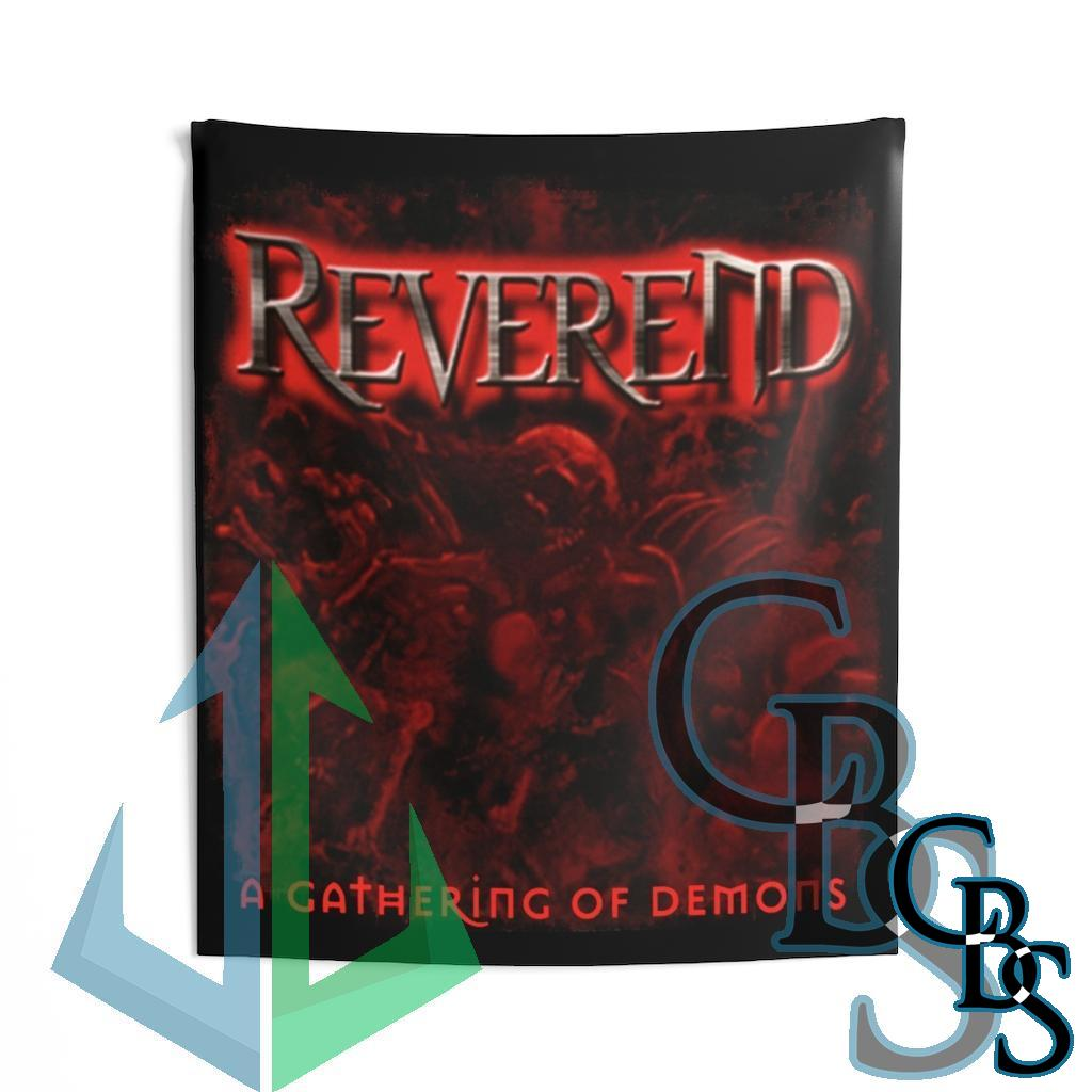 Reverend – A Gathering of Demons Indoor Wall Tapestries
