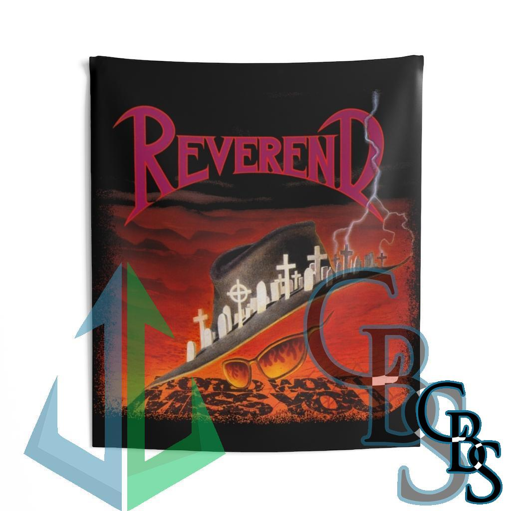 Reverend – World Won't Miss You Indoor Wall Tapestries