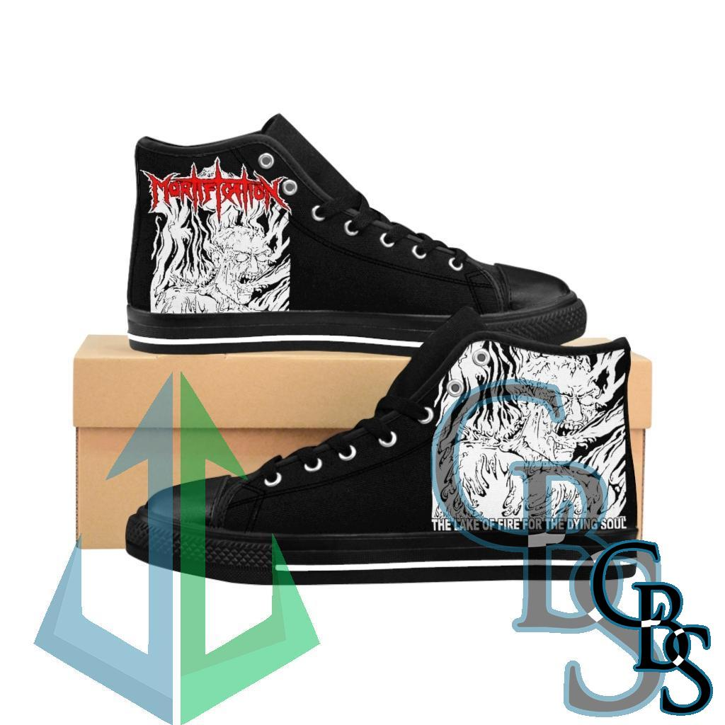 Mortification – The Lake of Fire Men's High-top Sneakers