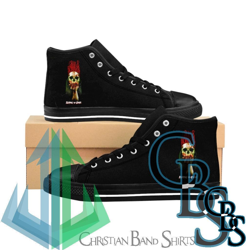 Grave Robber Escaping the Grave Men's High-top Sneakers