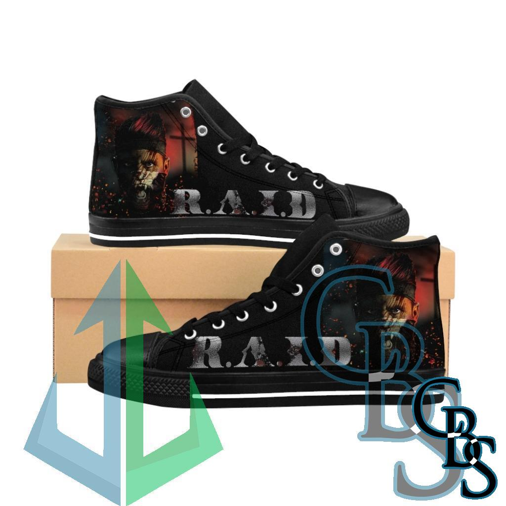 R.A.I.D – The Strong Survive Men's High-top Sneakers