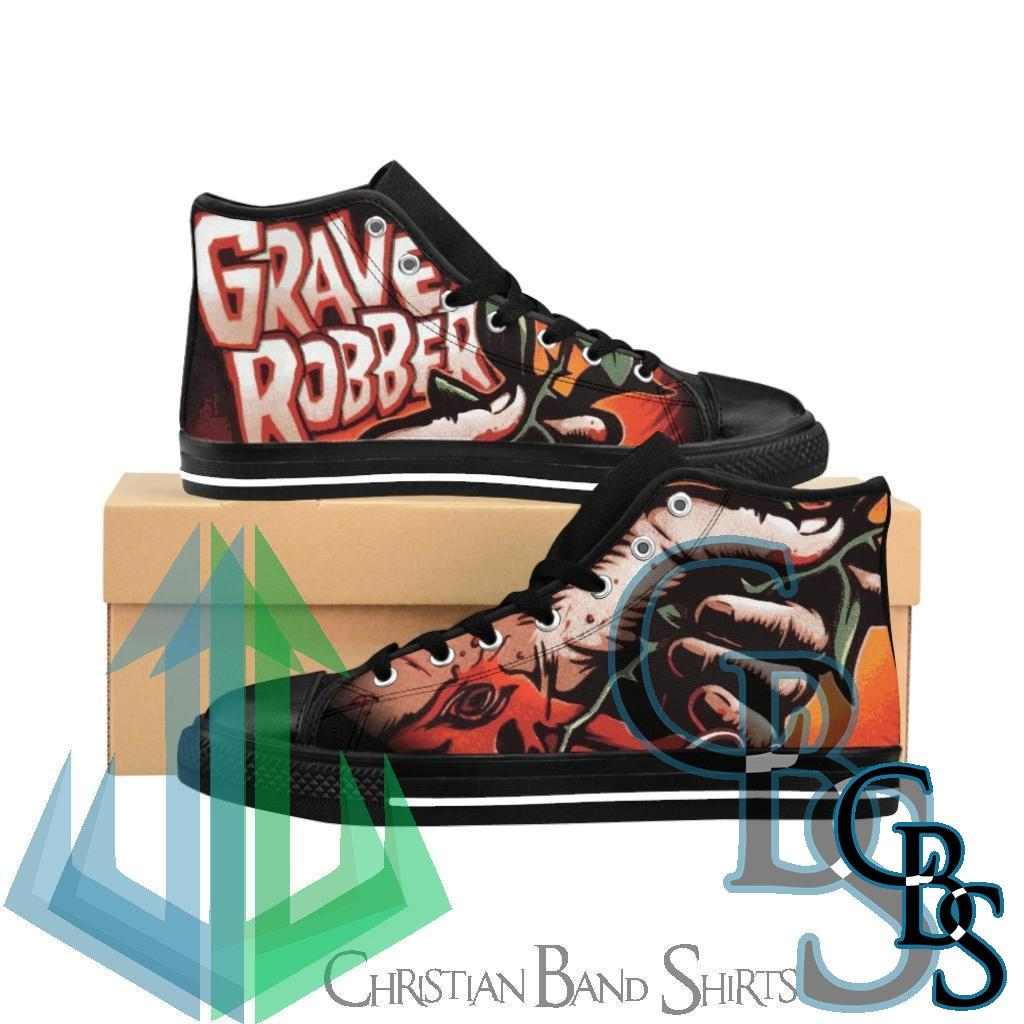 Grave Robber – Love Hurts Women's High-top Sneakers
