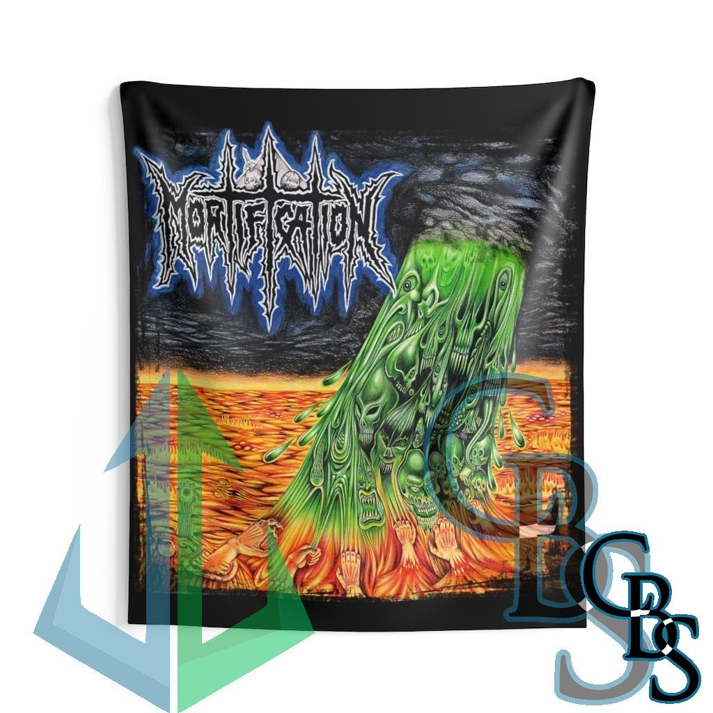 Mortification Indoor Wall Tapestries
