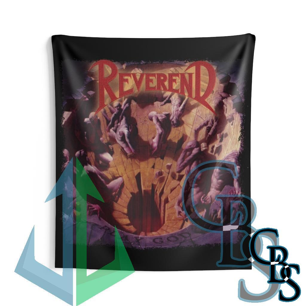 Reverend – Play God Indoor Wall Tapestries