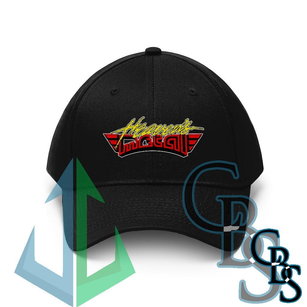 Heaven's Metal Magazine Winged Logo Embroidered Twill Cap YR3