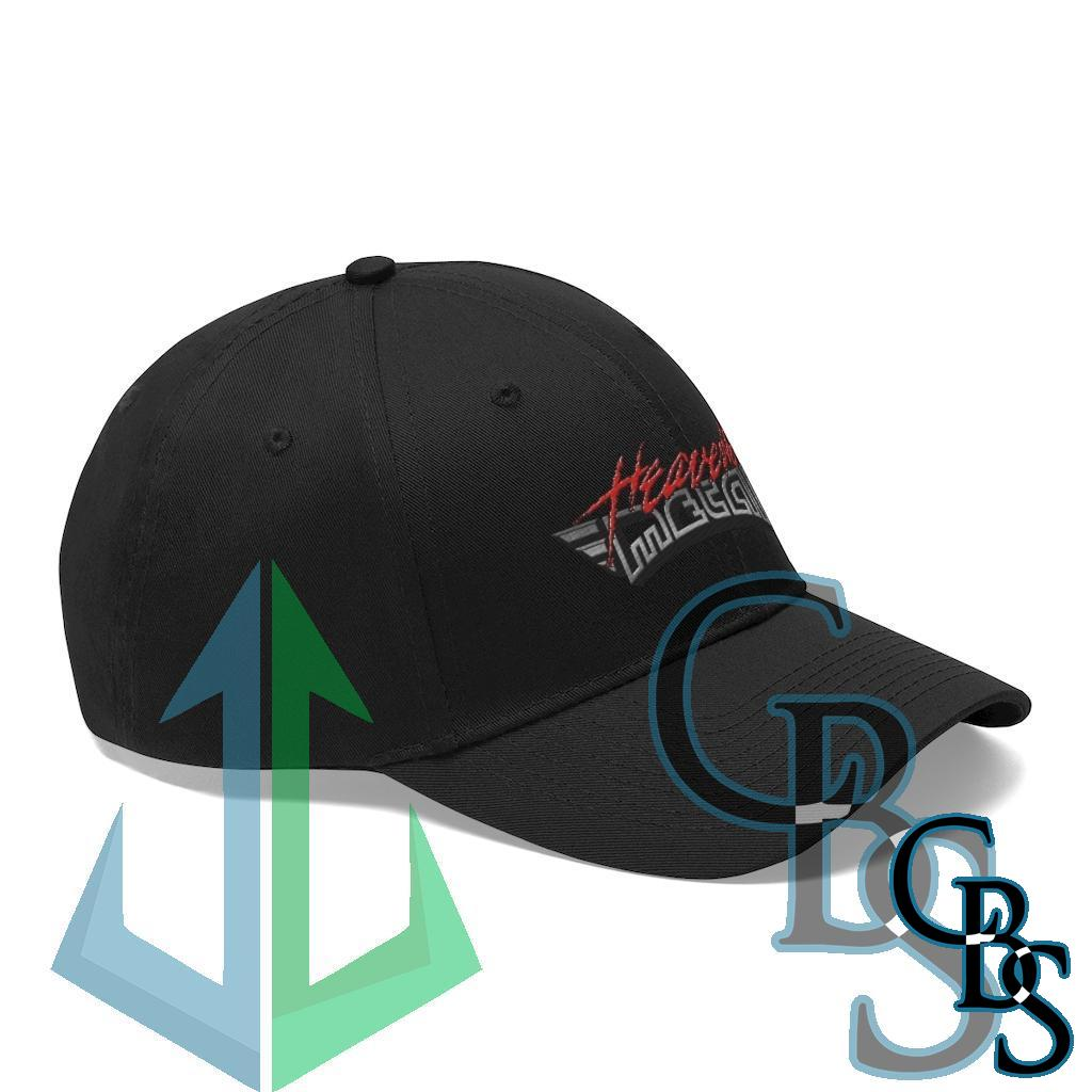 Heaven's Metal Magazine Logo Embroidered Twill Cap RGr3