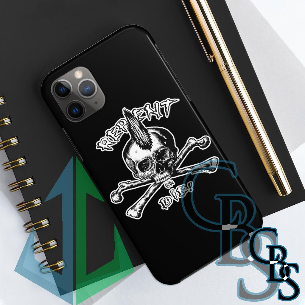 livetwice_punkart – Repent or Die iPhone Cases (iPhone 7/7 Plus, iPhone 8/8 Plus, iPhone X, XS, XR, iPhone 11, 11 Pro, 11 Pro Max)