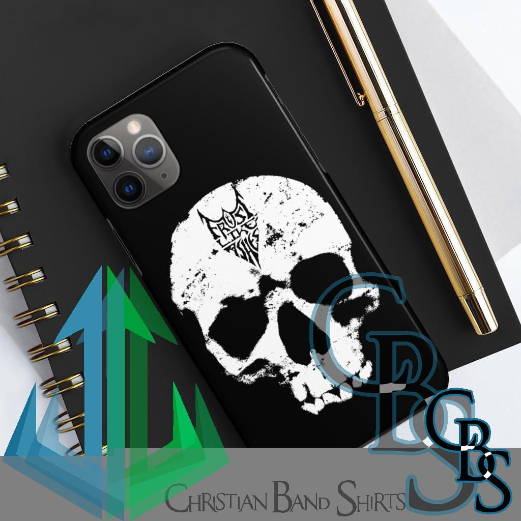 Frost Like Ashes Skull Tough iPhone Cases