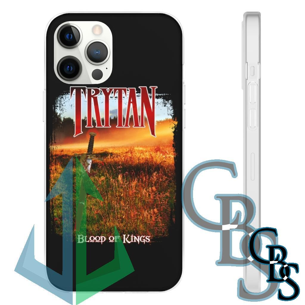 Trytan – Blood of Kings Clear Edge TPU Cases for iPhone 11-12(all models) Samsung Galaxy S10 (3 models)