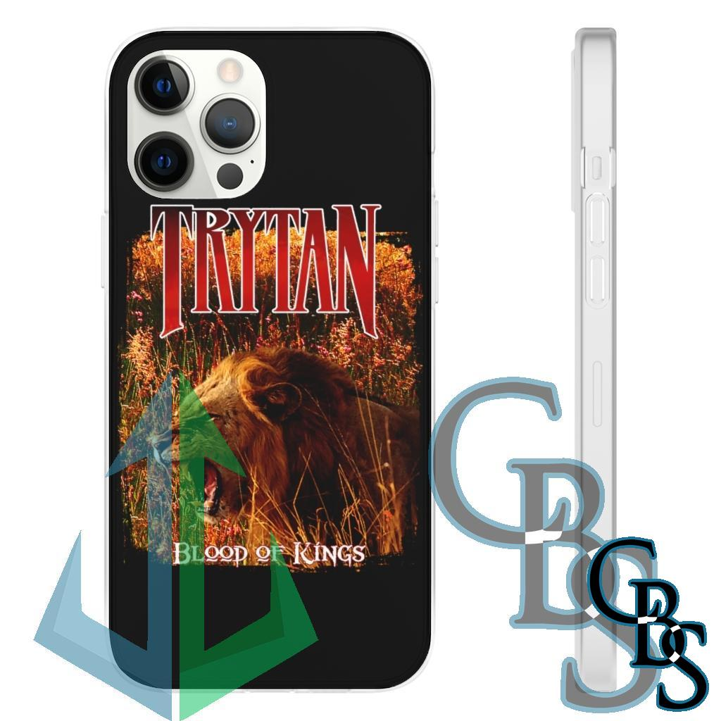 Trytan – Blood of Kings Lion Clear Edge TPU Cases for iPhone 11-12(all models) Samsung Galaxy S10 (3 models)
