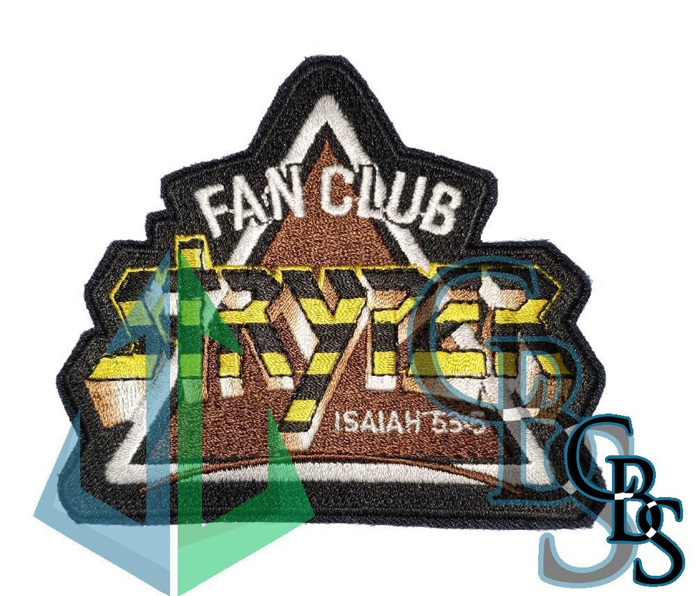 Stryper Fan Club Patch Embroidered 3.5″x4″