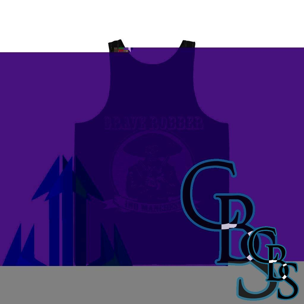 Grave Robber No Manches Jersey Tank Top