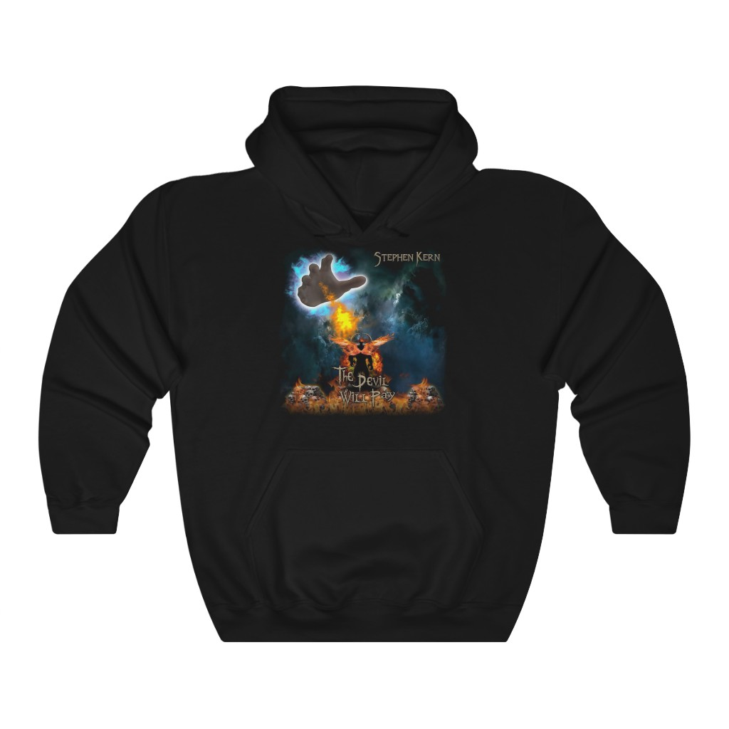 Stephen Kern – The Devil Will Pay Pullover Hooded Sweatshirt