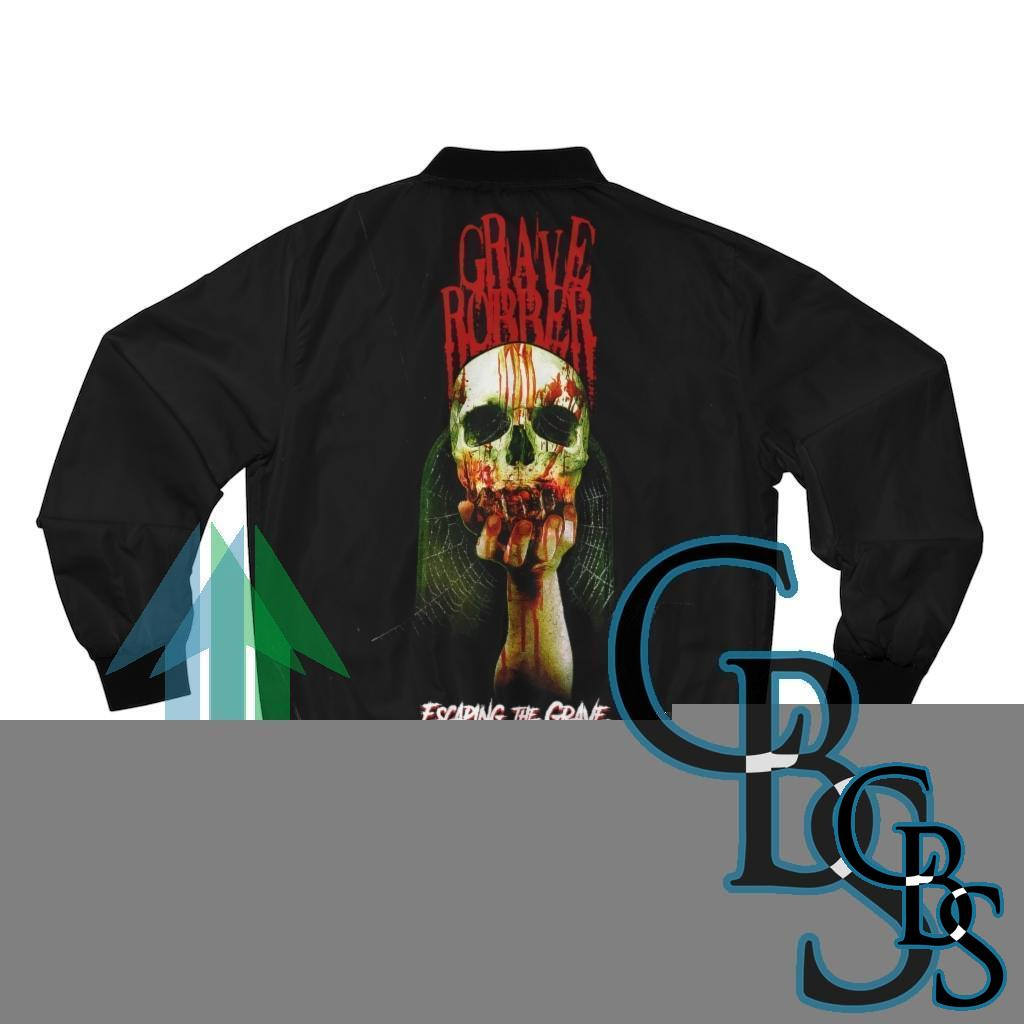 Grave Robber – Escaping the Grave Men's Bomber Jacket