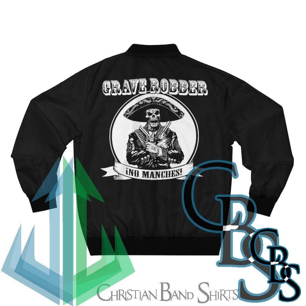 Grave Robber No Manches Men's Bomber Jacket