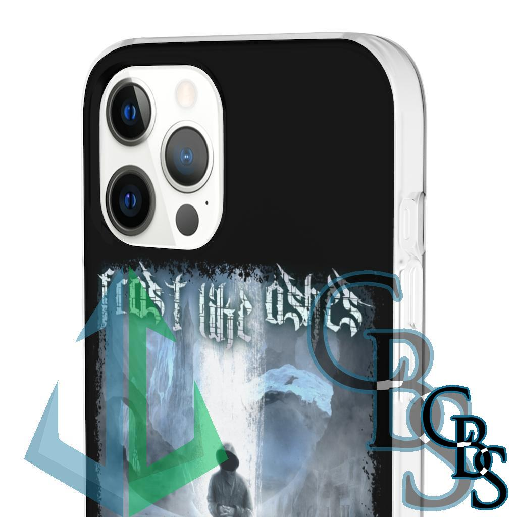 Frost Like Ashes – The Weight of Ice and Fog Clear Edge TPU Phone Cases