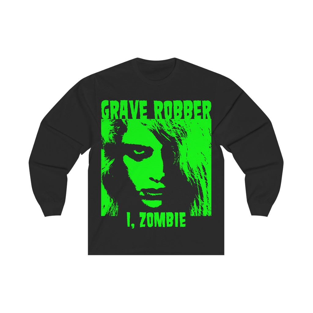 Grave Robber – I, Zombie Long Sleeve Tshirt