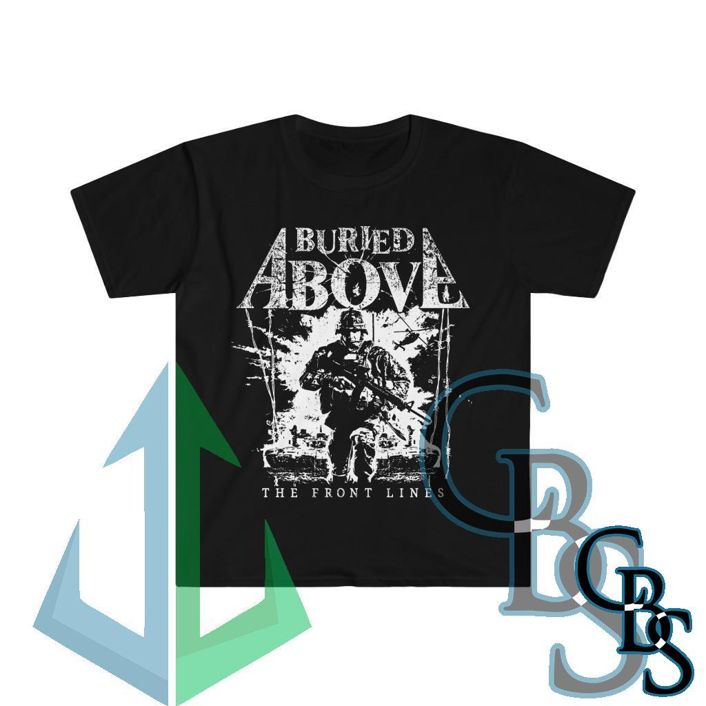 Buried Above – The Front Lines Short Sleeve T-Shirt 640