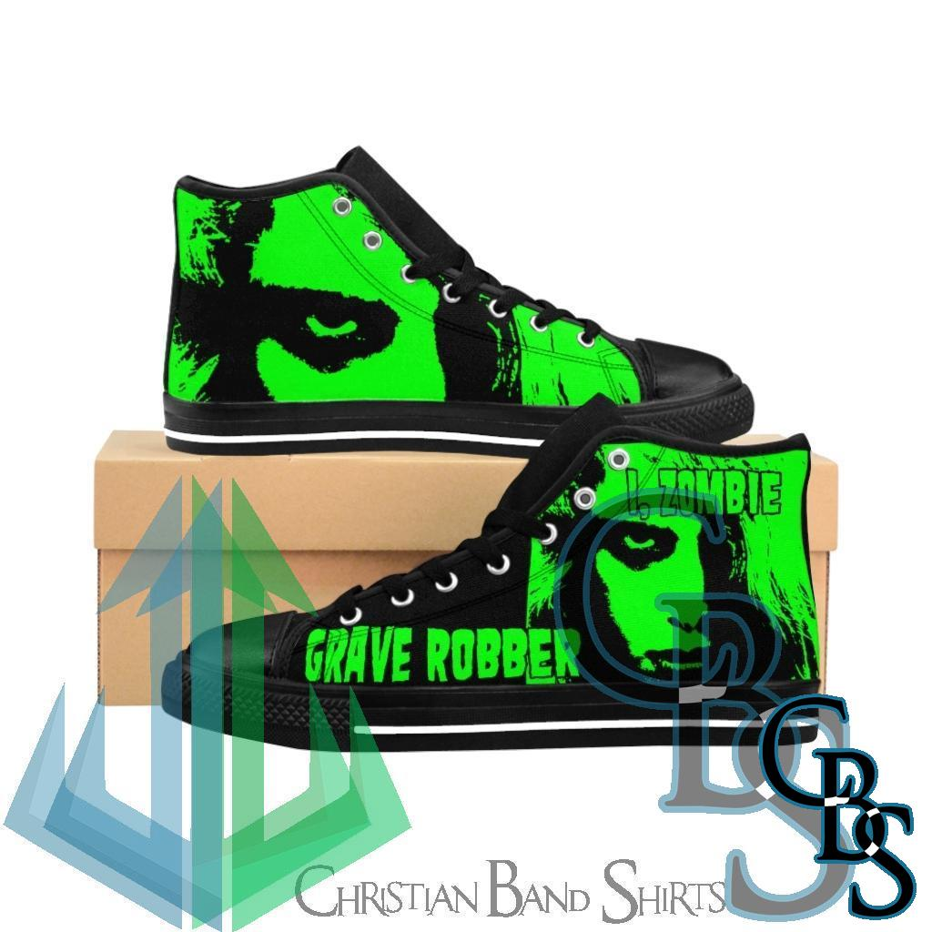 Grave Robber – I, Zombie Women's High-top Sneakers