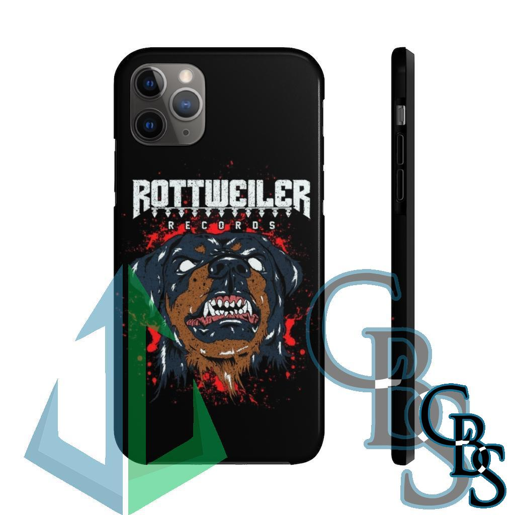 Rottweiler Records Tough iPhone Cases