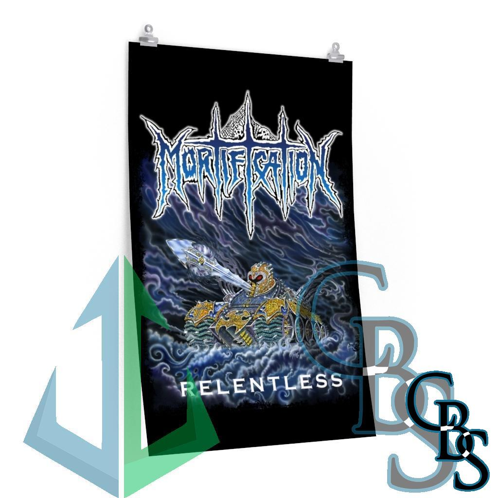 Mortification – Relentless Posters